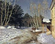 Levitan, Isaak March oil painting picture wholesale