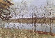 Isaac Levitan Autumn oil painting picture wholesale