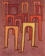Paul Klee Revolution des Viadukts oil painting picture wholesale