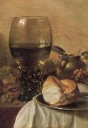 Pieter Claesz Still Life with Ham oil painting picture wholesale