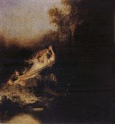 REMBRANDT Harmenszoon van Rijn The Abduction of Proserpina oil painting picture wholesale