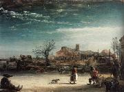 REMBRANDT Harmenszoon van Rijn Winter Landscape oil painting picture wholesale