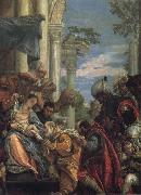 Tintoretto The Birth of St John the Baptist oil painting