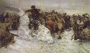 Vasily Surikov The Taking of the Snow oil painting picture wholesale