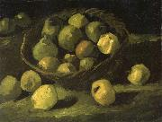 Vincent Van Gogh Still life with Basket of Apples (nn04) oil painting picture wholesale