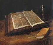 Vincent Van Gogh Still Life with Bible (nn04) oil painting picture wholesale