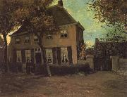 Vincent Van Gogh The Parsonage at Nuenen (nn04) oil painting picture wholesale
