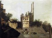 unknow artist View of Benares with Aurangzeb-s Mosque oil painting picture wholesale