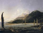 unknow artist A View of Matavai Bay,Tahiti oil painting picture wholesale