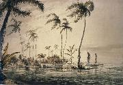 unknow artist A View in the Island of Otaheite oil painting picture wholesale