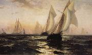 Anonymous Sailboat oil