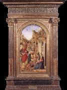 BASTIANI, Lazzaro Adoration of the Magi oil