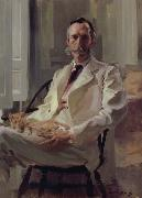Cecilia Beaux Man with the Cat oil painting artist