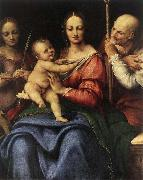 Cesare da Sesto Holy Family with St Catherine oil painting picture wholesale