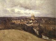 Corot Camille View of Saint-It oil painting picture wholesale