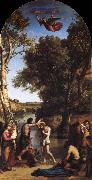 Corot Camille The Baptism of Christ oil painting picture wholesale