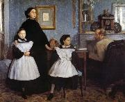 Edgar Degas Belury is family oil painting picture wholesale