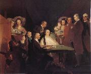 Francisco Goya The Family of the Infante Don luis oil painting picture wholesale