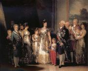 Francisco Goya The Family of Charles IV oil painting picture wholesale