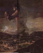 Francisco Goya The Colossus oil painting picture wholesale