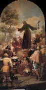 Francisco Goya St Bernardino of Siena preaching before Alfonso V of Aragon oil painting picture wholesale