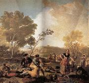 Francisco Goya The Picnic oil painting picture wholesale