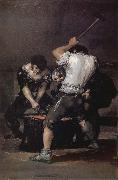 Francisco Goya The Forge oil painting picture wholesale