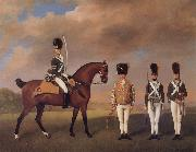 George Stubbs Soldiers of the 10th Light Dragoons oil painting picture wholesale