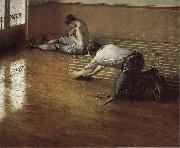 Gustave Caillebotte The worker plane the floor oil painting picture wholesale