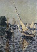 Gustave Caillebotte Sailboat oil painting picture wholesale