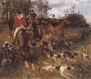 Hans Schmidt The Morning Hunt oil painting picture wholesale