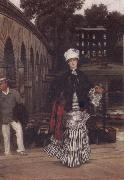 J.J.Tissot An Afternoon Excursion oil painting picture wholesale