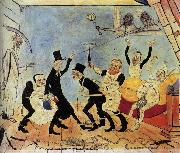 James Ensor The Bad Doctors oil painting reproduction