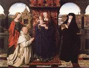 Jan Van Eyck Virgin and Child with Saints and Donor oil painting picture wholesale