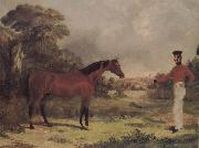 John Frederick Herring The Man and horse oil painting picture wholesale