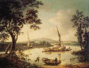 John Thomas Serres The Thames at Shillingford,near Oxford oil painting picture wholesale