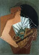 Juan Gris The Fem carring the basket oil painting picture wholesale