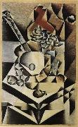 Juan Gris Flower and Guitar oil painting picture wholesale