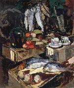 Konstantin Korovin Fish oil painting picture wholesale