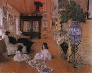 William Merritt Chase Hall oil painting picture wholesale