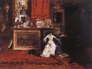 William Merritt Chase The Studio view oil painting picture wholesale