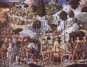 Benozzo Gozzoli The Procession of the Magi,Procession of the Youngest King oil painting picture wholesale