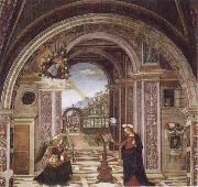 Bernardino Pinturicchio Annuciation oil painting picture wholesale