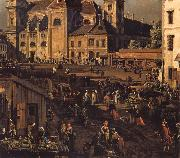 Bernardo Bellotto The Freyung in Vienna from the south-east oil painting picture wholesale