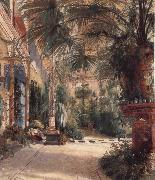 Carl Blechen The Palm House on the Pfaueninel oil painting artist