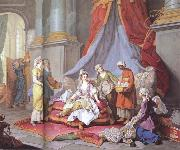 Charles Amedee Philippe Van Loo The Sultana at her Toilette oil painting picture wholesale
