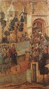 Duccio di Buoninsegna Christ Entering Jerusalem oil painting picture wholesale