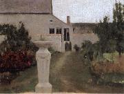 Fernand Khnopff The Garden oil painting picture wholesale