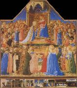 Fra Angelico The Coronation of the Virgin oil painting