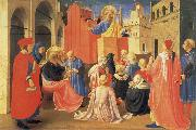 Fra Angelico The Hl. Petrus preaches oil painting picture wholesale